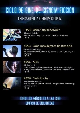 Leer más:Cartelera: Ciclo de Cine de Ciencia Ficción