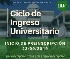 Leer más:CICLO DE INGRESO UNIVERSITARIO 2019-2020