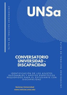 Leer más:Conversatorio Universidad-Discapacidad: Identificación de los ajustes razonables y apoyos...