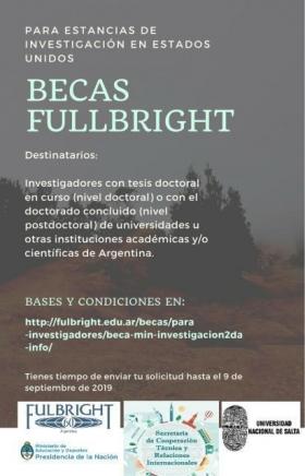 Leer más:Becas Fulbright