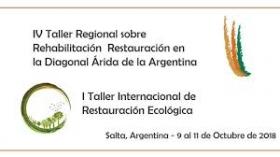 Leer más:IV Taller Regional  sobre Rehabilitación y Restauración en la Diagonal Árida de la Argentina / I...