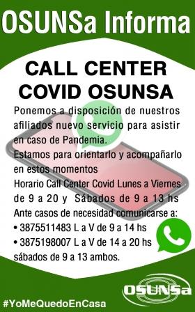 Leer más:Call Center de OSUNSa