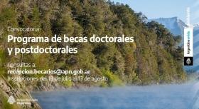 Leer más:Programa de becas para la investigación científica en Parques Nacionales