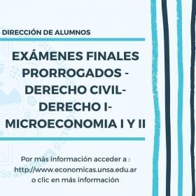 Leer más:Exámenes finales prorrogados en Económicas