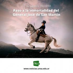 Leer más: A 171 años del paso a la inmortalidad del General San Martín