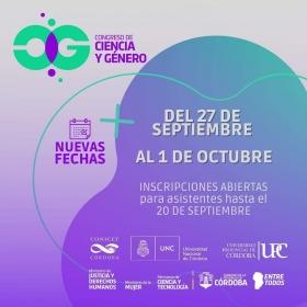 Leer más:Congreso de Ciencia y Género