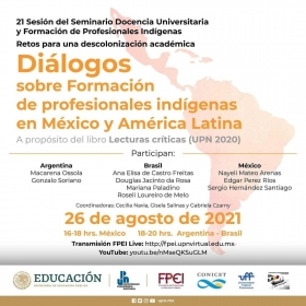 Leer más:Diálogos sobre Formación de profesionales indígenas en México y América Latina