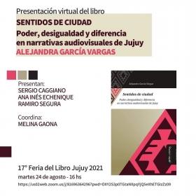 Leer más:Presentación virtual en la Feria del libro de Jujuy: