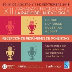 Leer más:XII Jornadas Universitarias La Radio del Nuevo Siglo