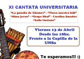 """Leer más:Este viernes se realizará la """"XI Cantata Universitaria"""""""