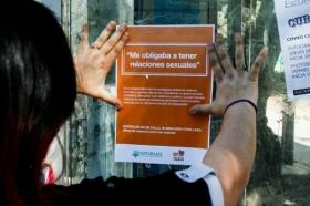 Leer más:Campaña gráfica sobre violencia machista.