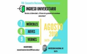 Leer más:VIII Encuentro Nacional y V Latinoamericano en la U.N.Sa.