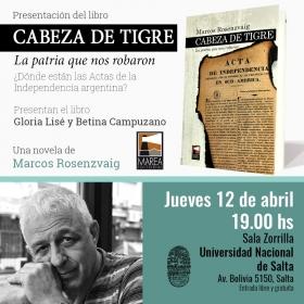 """Leer más:Presentación del libro """"Cabeza de tigre. La patria que nos robaron"""""""