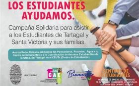 Leer más:Campaña solidaria en beneficio de los estudiantes de las Sedes Regional Tartagal y Santa Victoria