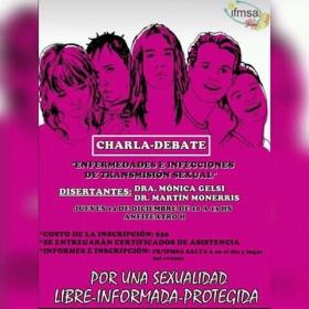 """Leer más:CHARLA DEBATE: """"Enfermedades e infecciones de transmisión sexual"""""""