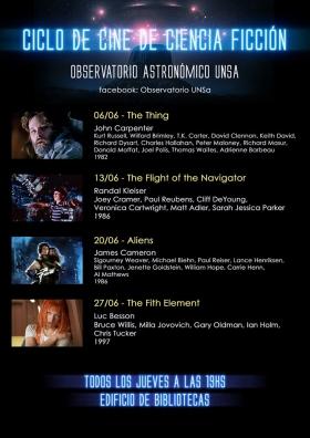 Leer más:Ciclo de Cine de Ciencia Ficción-Mes de Junio