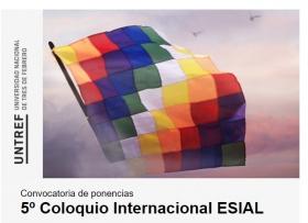 Leer más:Convocatoria de ponencias para el 5º Coloquio Internacional ESIAL
