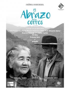 """Leer más:Estreno: """"El abrazo de los cerros"""""""