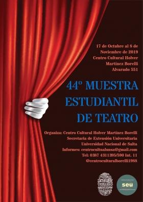 Leer más:44° Muestra Estudiantil de Teatro