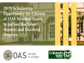 Leer más:Becas parciales de la OEA y la Universidad de Colorado