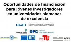 Leer más:Oportunidades de financiación para jóvenes investigadores en universidades alemanas de excelencia