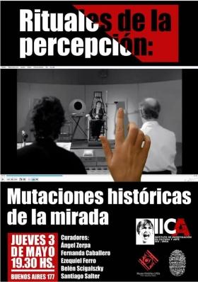 """Leer más:""""Rituales de la Percepción: mutaciones históricas de la mirada"""""""