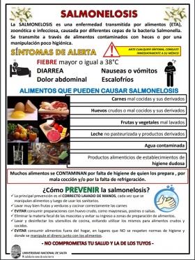 Leer más:Campaña de prevención de la Salmonelosis
