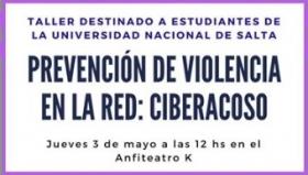 Leer más:Taller de prevención de violencia en la red: Ciberacoso