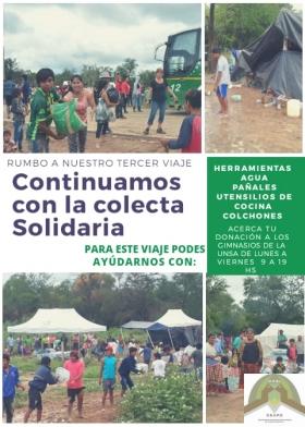 Leer más:Colecta solidaria