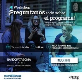 Leer más:Banco Patagonia emprende: Programa de innovación financiera digital