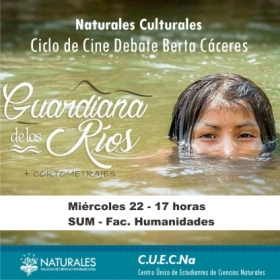 Leer más:Ciclo de Cine debate Berta Cáceres