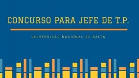 Leer más:Convocatoria para Jefe de T.P. de la Tecnicatura Universitaria en Energía Solar