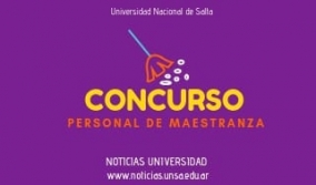 Leer más:Concurso para Personal de Maestranza