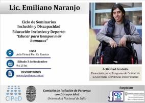 Leer más:Seminarios de Inclusión y Discapacidad
