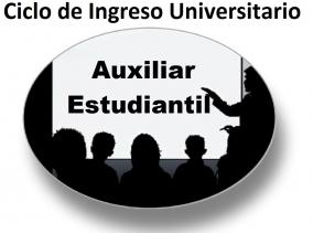 Leer más:Cargos Auxiliar Estudiantil para el Ciclo de ingreso Universitario