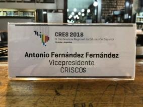 Leer más:Participando en la Conferencia Regional de Educación Superior (CRES) 2018