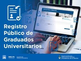 Leer más:Registro Público de Graduados