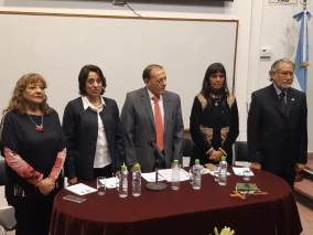 Leer más:Asunción de nuevas autoridades de la Facultad de Ciencias de la Salud
