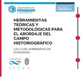 """Leer más:Ciclo de Seminarios de Posgrado: """"Herramientas teóricas y metodológicas para el abordaje del..."""