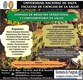 Leer más:Jornada de Medicina Tradicional y Complementaria en Salud