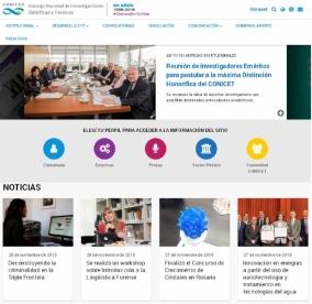 Leer más:CONICET tiene nuevo sitio Web