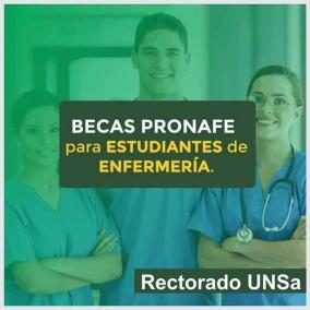 Leer más:BECAS PRONAFE PARA LOS ESTUDIANTES DE ENFERMERÍA