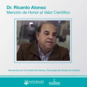 Leer más:Mención de honor al valor científico para el Doctor Ricardo Alonso