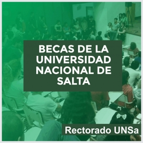 Leer más:APERTURA DE INSCRIPCIÓN A LAS BECAS DE LA UNIVERSIDAD NACIONAL DE SALTA
