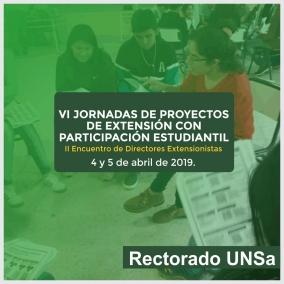Leer más:VI JORNADAS DE PROYECTOS DE EXTENSIÓN CON PARTICIPACION ESTUDIANTIL Y II JORNADAS DE DIRECTORES...