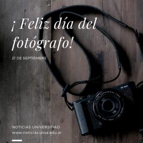 Leer más:¡ Feliz día del Fotógrafo !