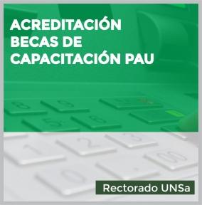 Leer más:Acreditación de Beca de capacitación para el Personal de Apoyo Universitario