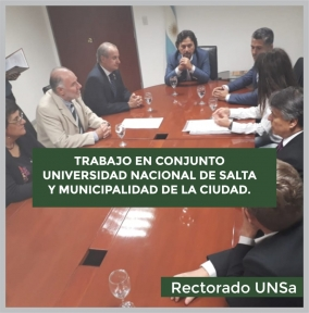 Leer más:Cooperación entre la U.N.Sa. y el municipio de la Ciudad de Salta