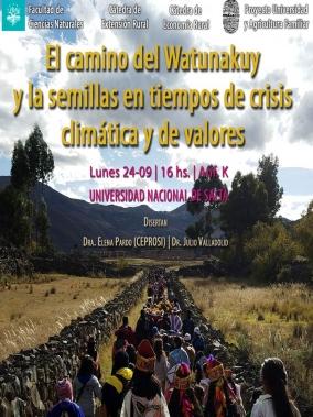 """Leer más:Presentación """"El camino del Watunakuy y la semillas en tiempo de crisis climática y de valores"""