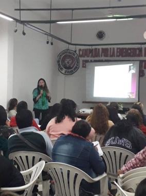 """Leer más:Se realizó el taller """"Mujer y Perspectiva de Género"""""""